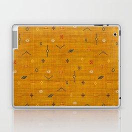 Cactus Silk In Gold Laptop & iPad Skin