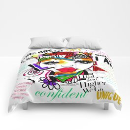 ARTFIRMATION COLLECTION - BEAUTY Comforters