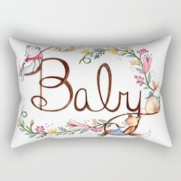 Hello Baby Rectangular Pillow