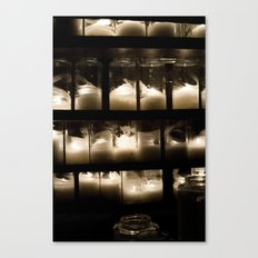 Behind The Light Canvas Print