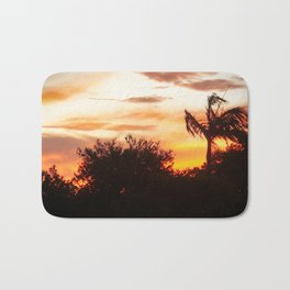 sunset in Belmont Bath Mat