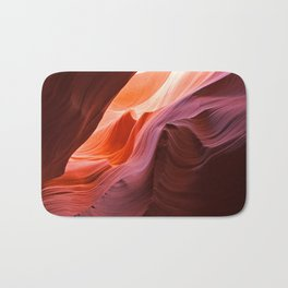 The Waves of Antelope Canyon Bath Mat