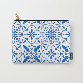 Azulejos Portugese tiles pattern Carry-All Pouch