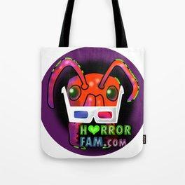 Zander HorrorFam.com Logo Tote Bag