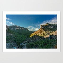 Mountain Landscape in Spain Art Print