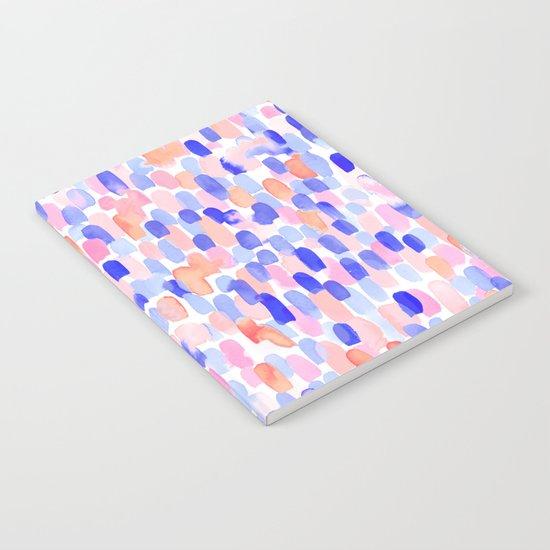 Delight Blue Orange Notebook