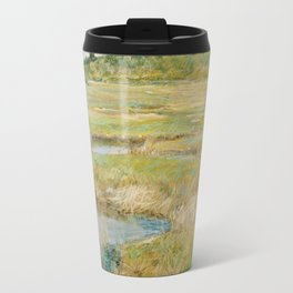 Childe Hassam - The Concord Meadow, 1891 Travel Mug