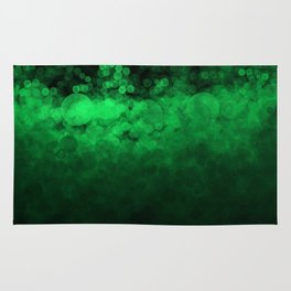 Green Spotted Rug