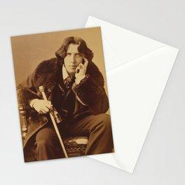 Oscar Wilde portrait by Napoleon Sarony, 1882 Stationery Cards