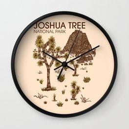 Joshua Tree National Park Wall Clock