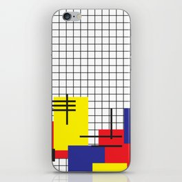 squares on squares on rectangles iPhone Skin