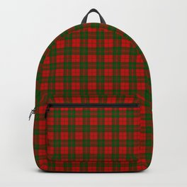 Drummond Tartan Backpack