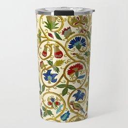 Embroidered Elizabethan / Jacobean Jacket Travel Mug