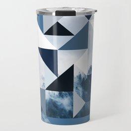 Triangles Ambush Cloudy Hillside Travel Mug