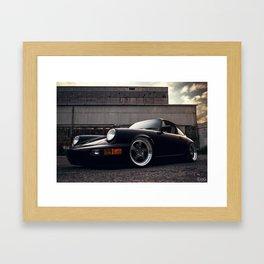 Porsche 964 Framed Art Print