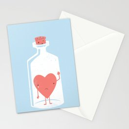 Let the LOVE Out Stationery Cards