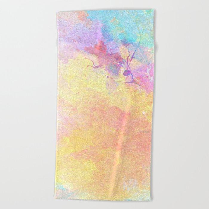 Abstract Texture 08 Beach Towel