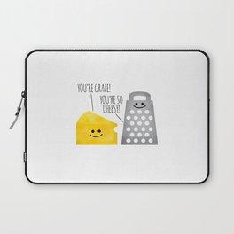 Cheesy Couple Laptop Sleeve