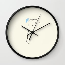Devout Wall Clock