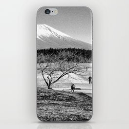 mt fuji iPhone Skin