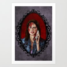 Halloween Heroines: Sidney Prescott Art Print