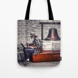 Old Man, Take A Look At Yourself... Tote Bag