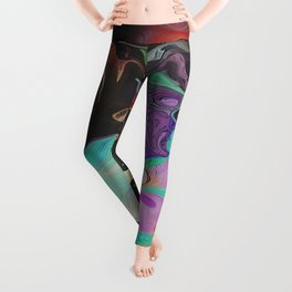 Abstract Distractions Leggings