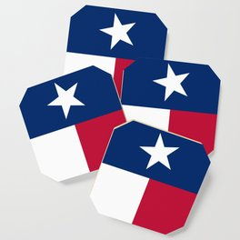 State flag of Texas, official banner orientation Coaster