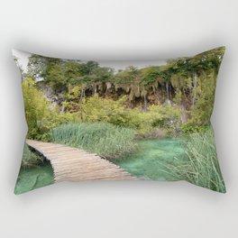 guided relaxation Rectangular Pillow