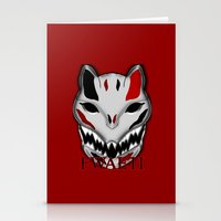 werewolf Stationery Cards featuring WereWolf by FWAETI