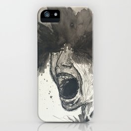 The Pain of Cluster Headaches iPhone Case
