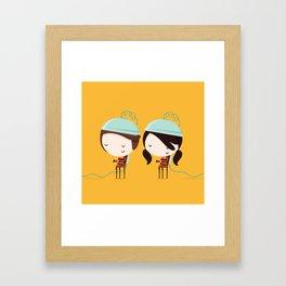 Guilt (murders) Framed Art Print
