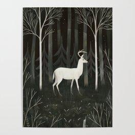 White deer Poster