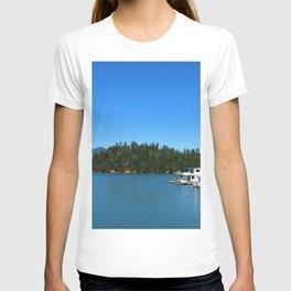 Houseboats On Lake Shasta T-shirt