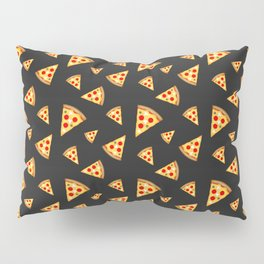 Cool and fun pizza slices pattern Pillow Sham