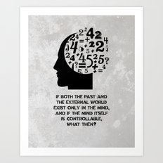 George Orwell - 1984 - Mind Control Art Print