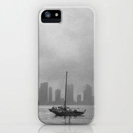 Fog over Hoboken iPhone Case