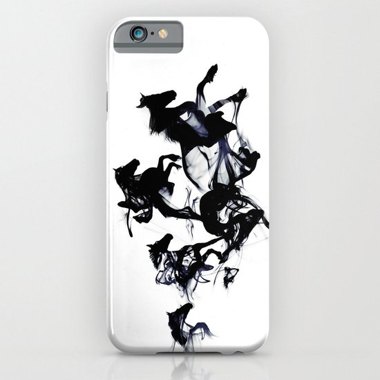 Black horses iPhone & iPod Case