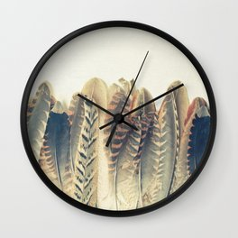 Feather Dip Wall Clock