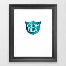 COP ULA Framed Art Print