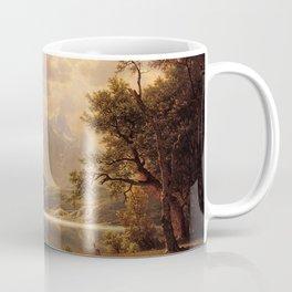 Estes Park Colorado 1869 By Albert Bierstadt | Reproduction Painting Coffee Mug