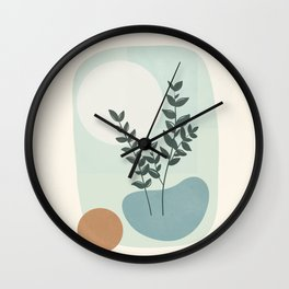 Azzurro Shapes No.51 Wall Clock