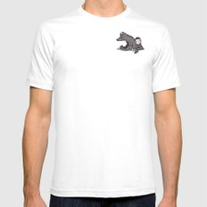 lullaby SMALL Mens Fitted Tee White
