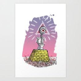 Illumipotty Art Print