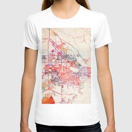 San Jacinto map California CA T-shirt