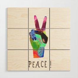 Peace! Wood Wall Art