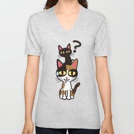 The Cats Unisex V-Neck