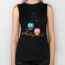 Owl Always Love You Biker Tank
