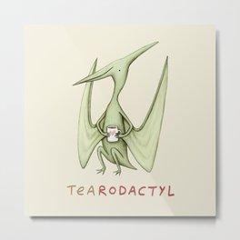 Tearodactyl Metal Print