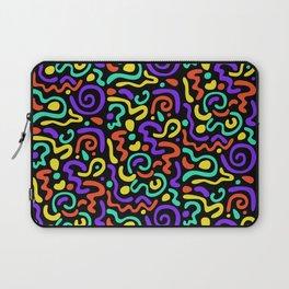 90s Swirls Laptop Sleeve